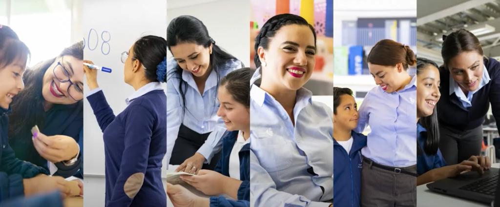 docentes trabajando
